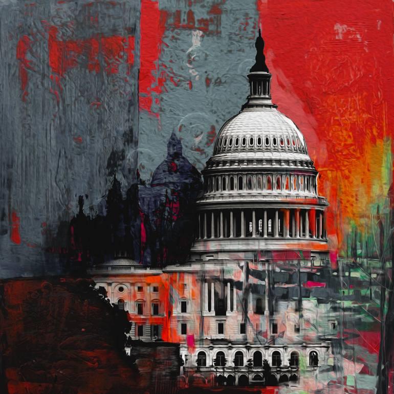 Capitol Building 202 3 by artist Mawra Tahreem
