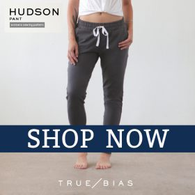 Click here to purchase the Hudson Pants pattern