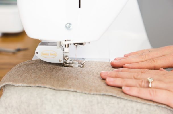 Sewing Thick Wool with a Walking Foot