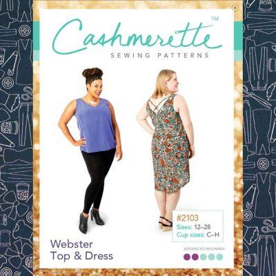 The Cashmerette WEbster Dress & Top Pattern
