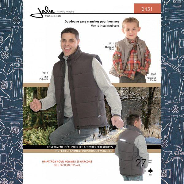 2451 Men's Insulated Vest