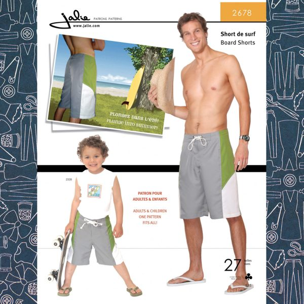 Jalie Board Shorts