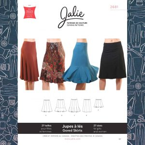 2681 Knit Gored Skirts