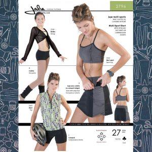 2796 Skort & Compression Shorts