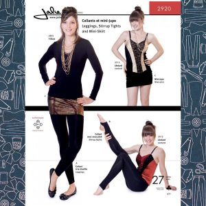 2920 Leggings and Mini-Skirt