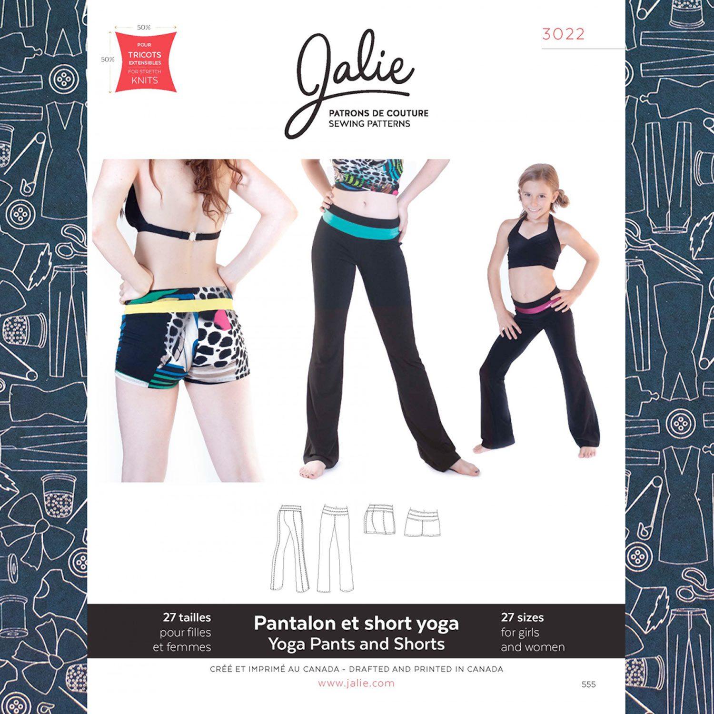 16ad752622d1b Jalie 3022 Yoga Pants Pattern - The Confident Stitch