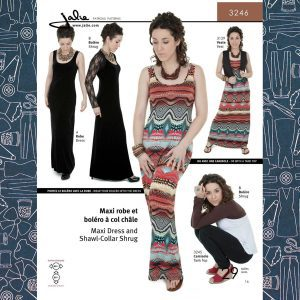 3246 Maxi Dress and Shrug