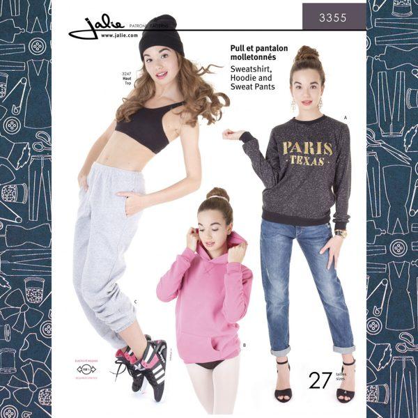 3355 Sweatshirt Hoodie Sweat Pants