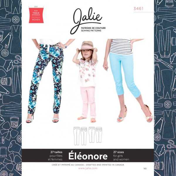 3461 Eleonore Pull-On Jeans