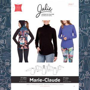 3667 Marie-Claude Raglan Pullovers
