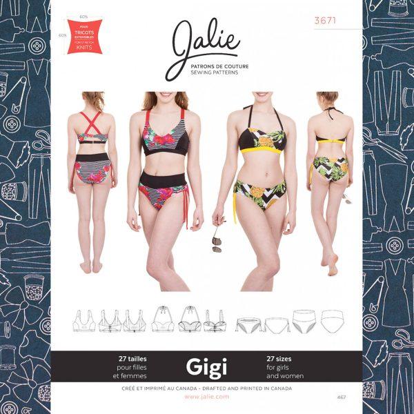 Jalie 3671 Gigi Bikini Pattern