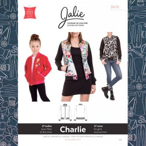 3675 Charlie Bomber Jacket Pattern