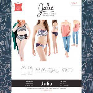 3886 Julia Camisole, Bralette & Panties