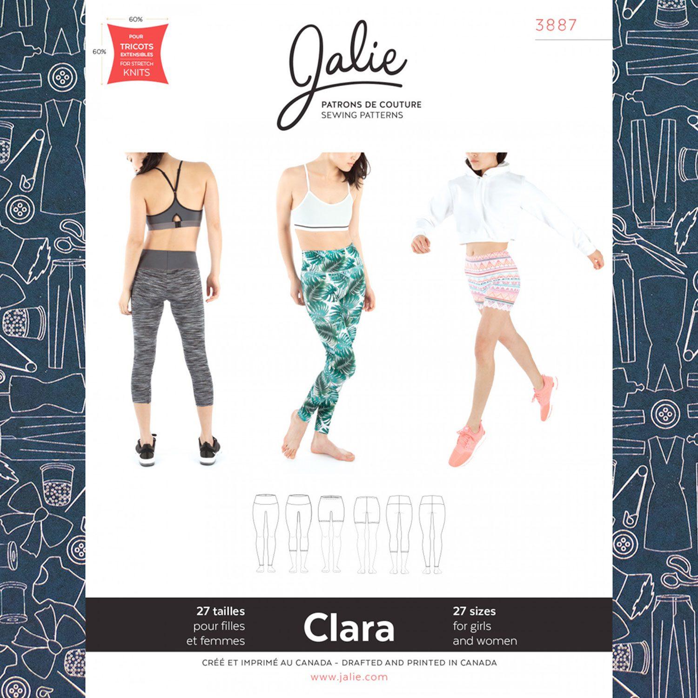 6cf8cbc5ff31 Jalie 3887 Clara High-Waisted Leggings Pattern - The Confident Stitch