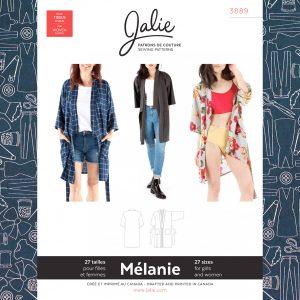 3889 Melanie Kimono Robe