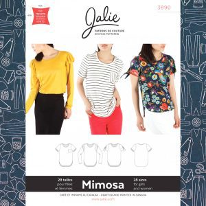 3890 Mimosa Scoopneck T-Shirts