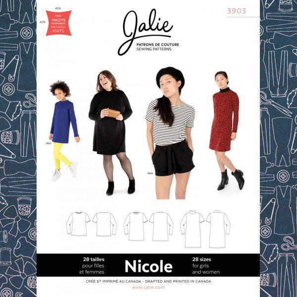 3903 Nicole Shift Dress