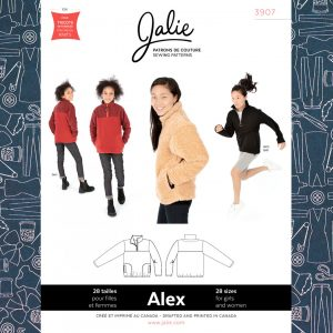 3907 Alex Half-Zip Pullover