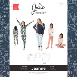 4016 Jeanne Knit PJ Set