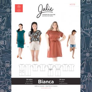 4019 Bianca Dress & Top Pattern