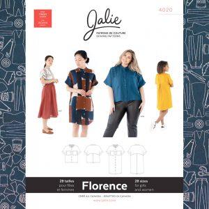 4020 Florence Shirt and Shirtdress