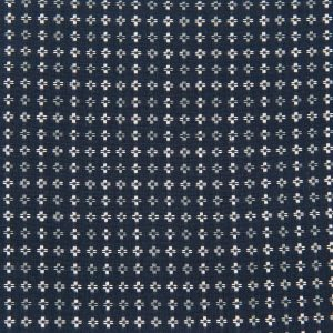 Square Stitch Cotton in Navy