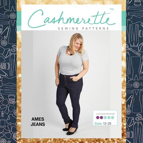 Cashmerette Ames Jeans Pattern