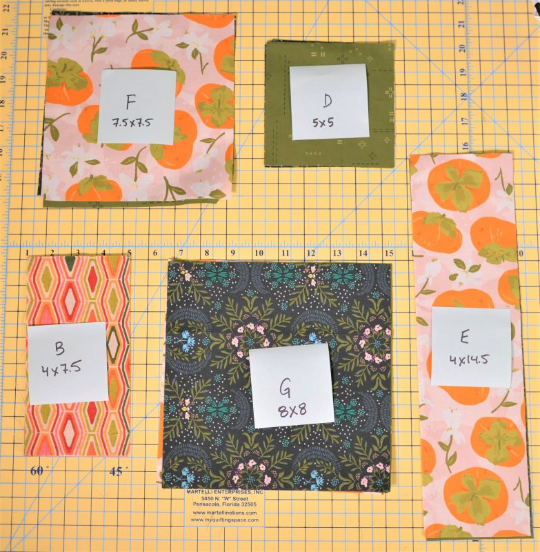 Label each stack to keep from getting mixed up!