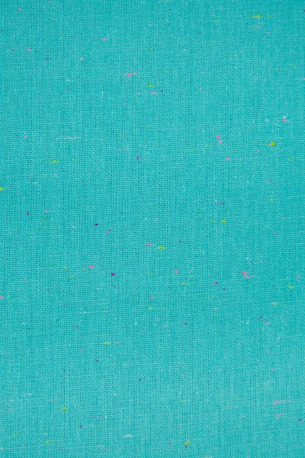 Essex Speckle YD Linen in Aqua