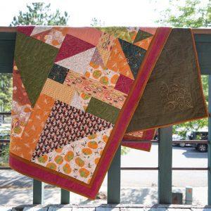 Fall Time Faster Fourteen Quilt Kit