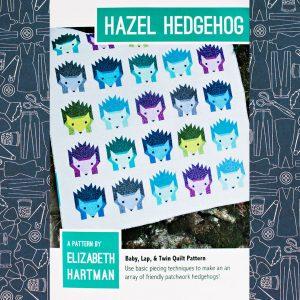 Hazel Hedgehog Quilt Pattern
