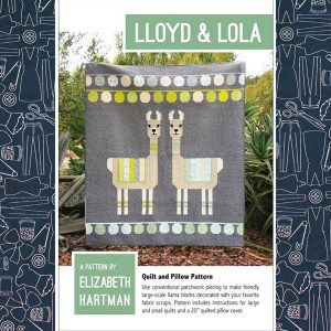Lloyd and Lola Llama Quilt Pattern