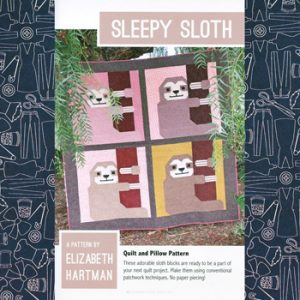 Sleepy Sloth Quilt Pattern