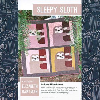 Sleepy Sloth Quilt Pattern