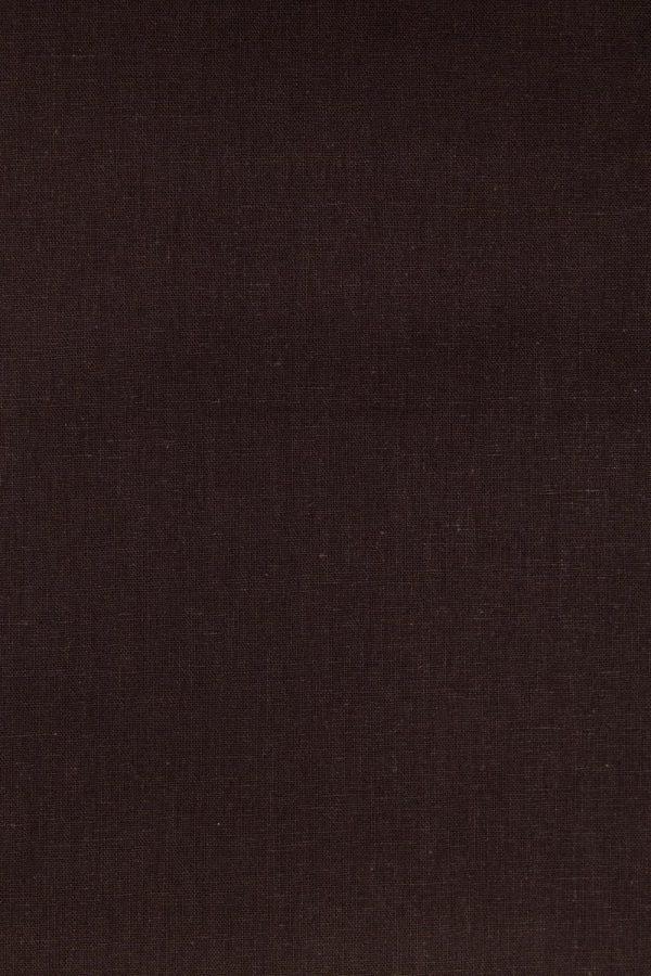 Chocolate Essex Linen