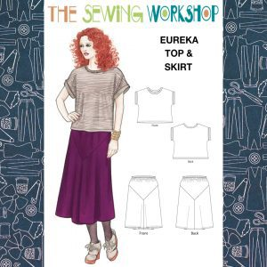 Eureka Top and Skirt Pattern