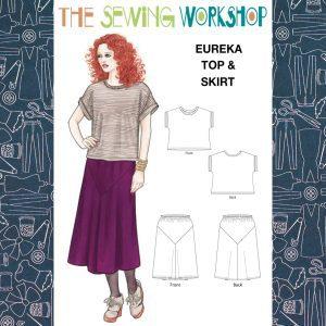 Eureka Top and Skirt Pattern
