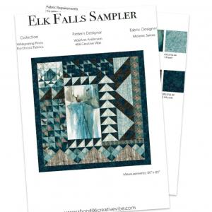 Elk Falls Sampler Quilt Kit