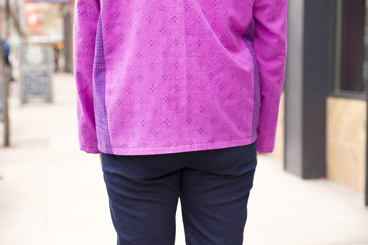 Straightened Hem on my second Tabula Rasa Jacket