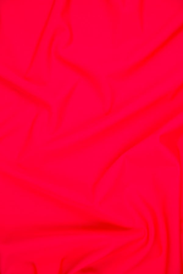 Swimsuit Knit in Neon Red