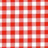 Oilcloth in Red Gingham