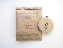 JD Geometric Garden Cross Stitch Kit