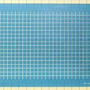 Full Line Stencil Half Inch Grid