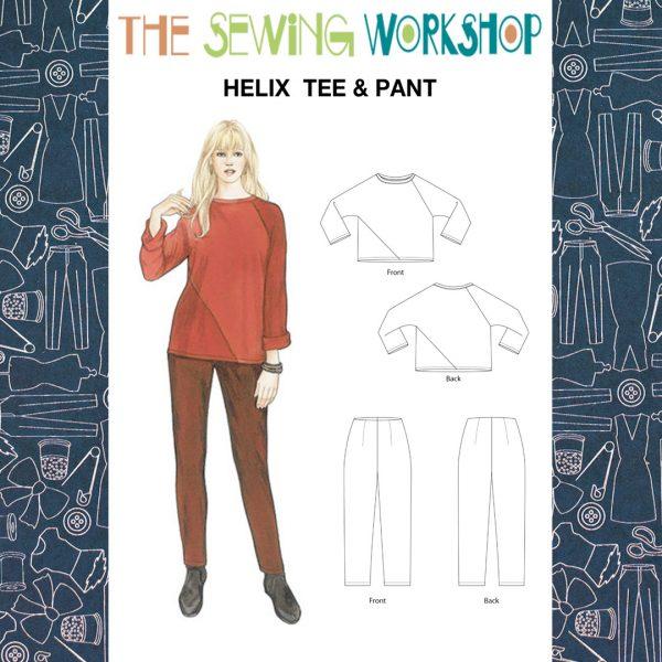 Helix Tee and Pants