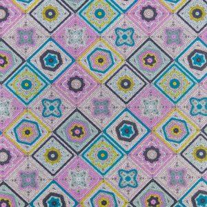 Crochet Sampler QC in Multi