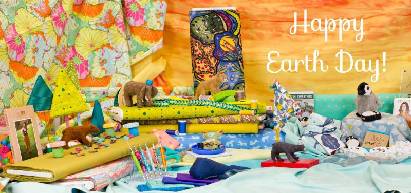 Happy Earth Day & Happy Sewing!
