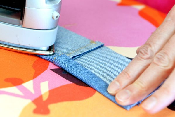 Double Sided Stay Tape with Denim