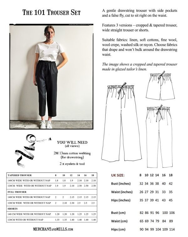 101 Trousers