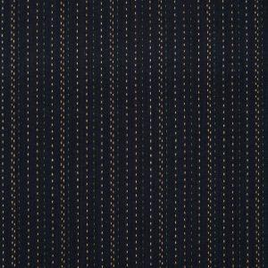 Geo Straight-Stitch Cotton in Black