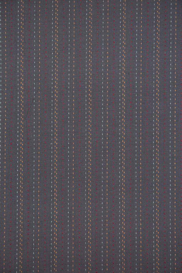 Straight-Stitch Cotton in Gray